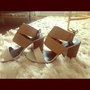 Rebecca Minkoff Leather Block Heels
